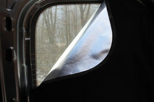 Ram Promaster Magnetic Insulated Window Cover - Passenger Middle Panel - Standard Roof - Down by the River Curtains