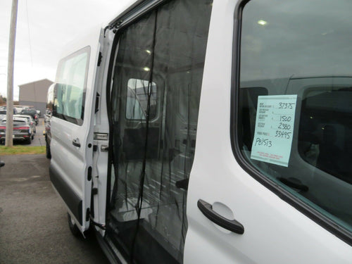 Ford Transit Sliding Door Magnetic Mosquito Screen - Mid/High Roof - Down by the River Curtains