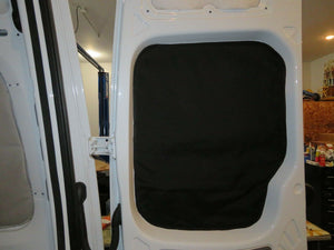 Ram Promaster Magnetic Insulated Window Covers - Rear Doors - Standard Roof - Down by the River Curtains