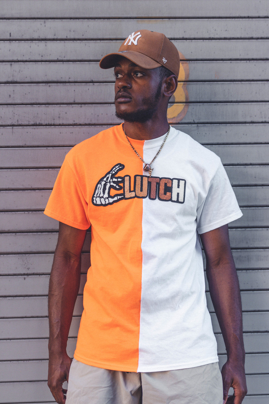 Adult Two Tone CLUTCH Logo T-shirts