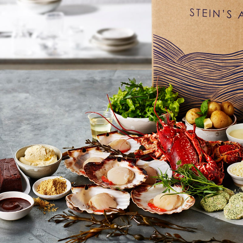 Rick Stein - Stein's at home menu boxes
