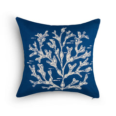 Kate-Stein-Seaweed-Square-Cushion-Navy