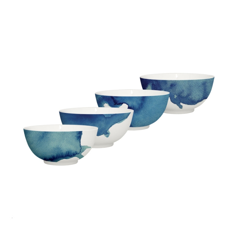 Rick Stein Coves of Cornwall - Set of 4 cereal bowls