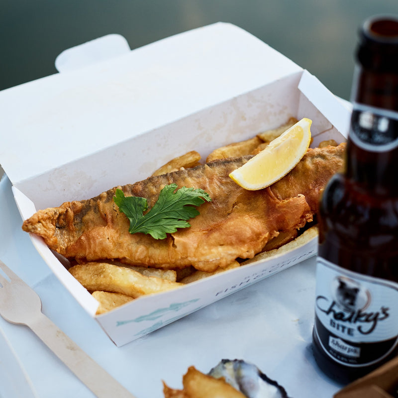 Rick-Stein-Chalkys-Bite-Beer-Sharps-Cornwall-Food
