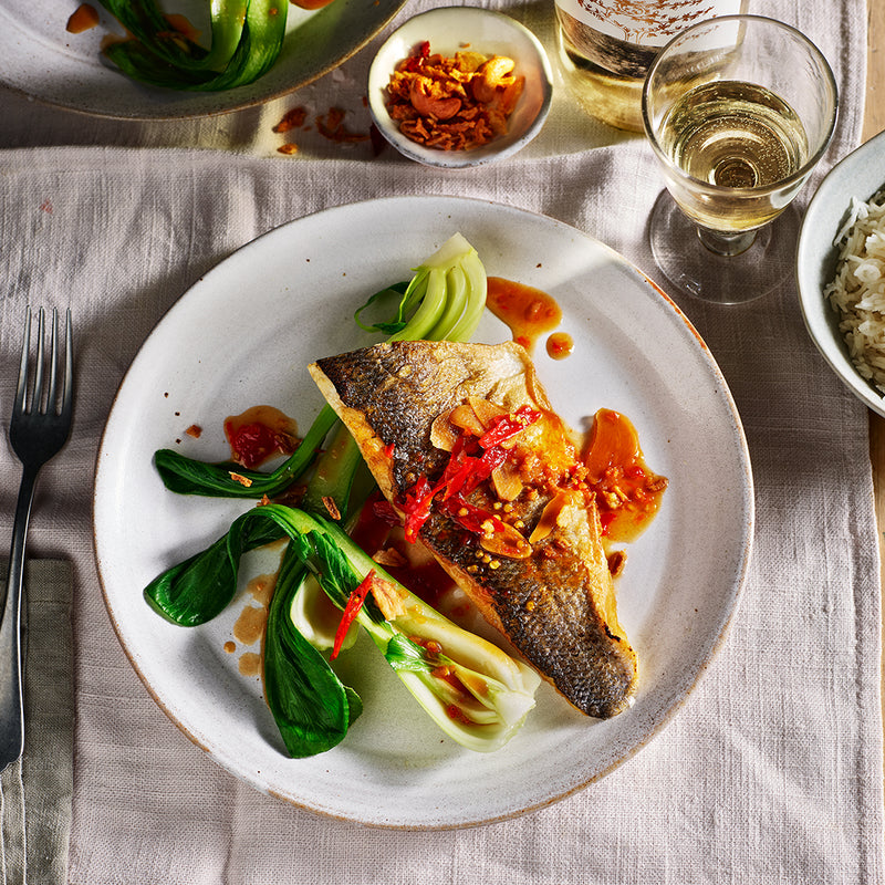 Stein's at Home - The sea bass menu