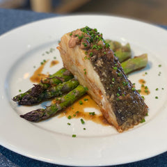 Stein's at Home - Turbot & St Enodoc Asparagus