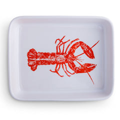 Roaster dish - red lobster design