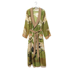 One Hundred Stars Gown - Olive Green