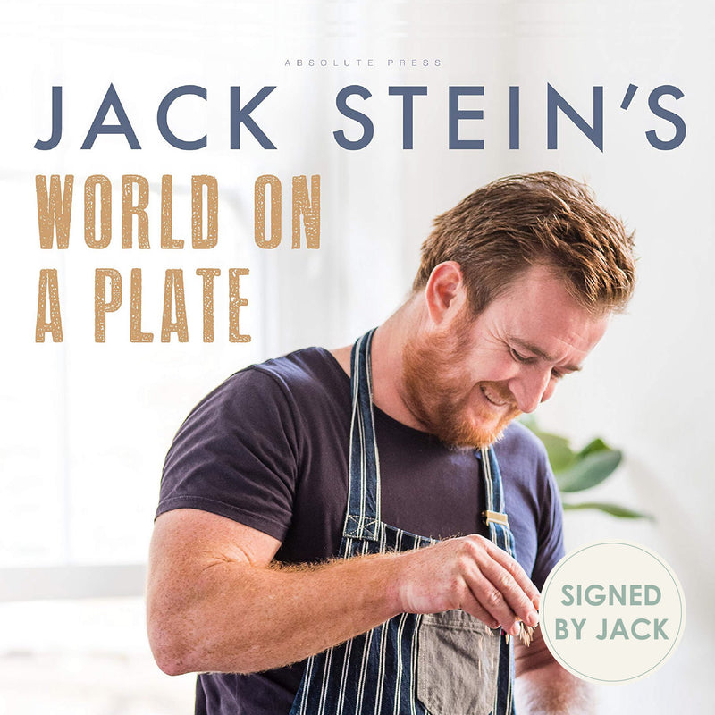 Jack Stein's World on a Plate (Signed copy)