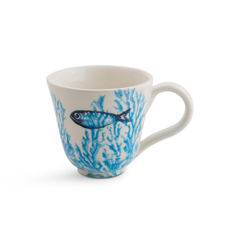 Coral cup - turquoise coral