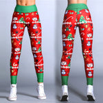 Women Leggings New Flower Digital Print Pant