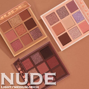 9 Colors Nude Eyeshadow Kit