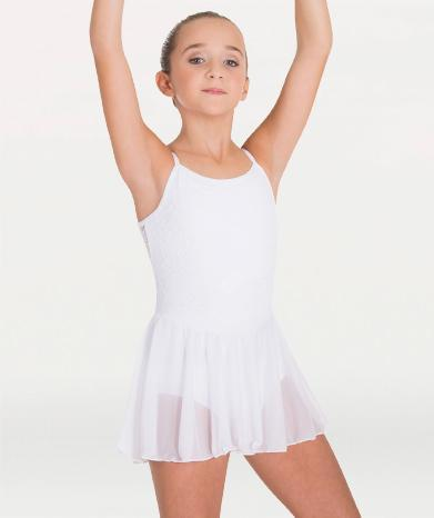 Camisole Skirted Leotard - GIRLS
