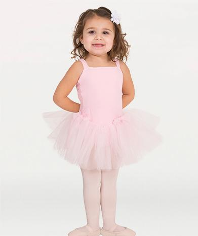 Camisole Ballet Leotard with Tulle Skirt - GIRLS