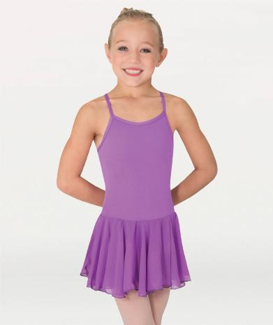 Camisole Ballet Leotard with Chiffon Skirt - GIRLS