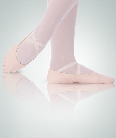 TotalStretch Low Vamp Canvas Ballet Slipper