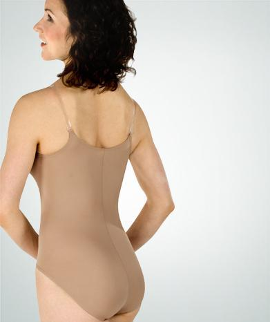 Under Wraps Microfiber Camisole Leotard - WOMENS