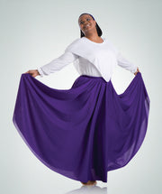 Long Praise Dance Skirt - WOMENS