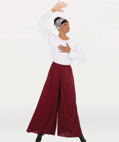 Extra Wide Palazzo Pants
