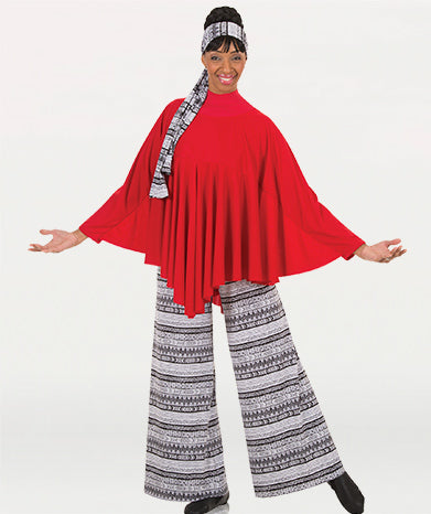 Celebration Of Spirit Capes Drapey Pullover - WOMENS