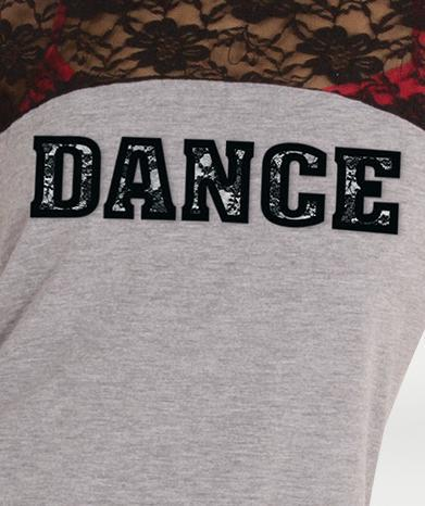 Lacey Back DANCE Tee - WOMENS