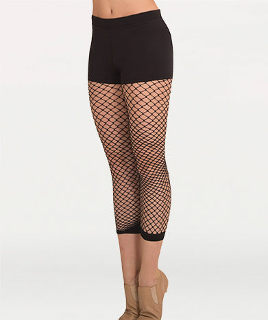 TotalSTRETCH Crop Fishnet Tights