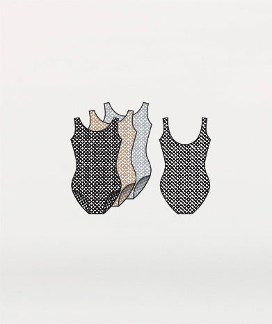 Power Mesh Tank Bodysuit - GIRLS