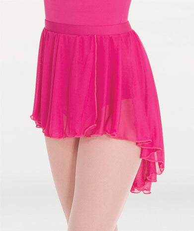 Pull-On Full Bouncy Chiffon Skirt - WOMENS