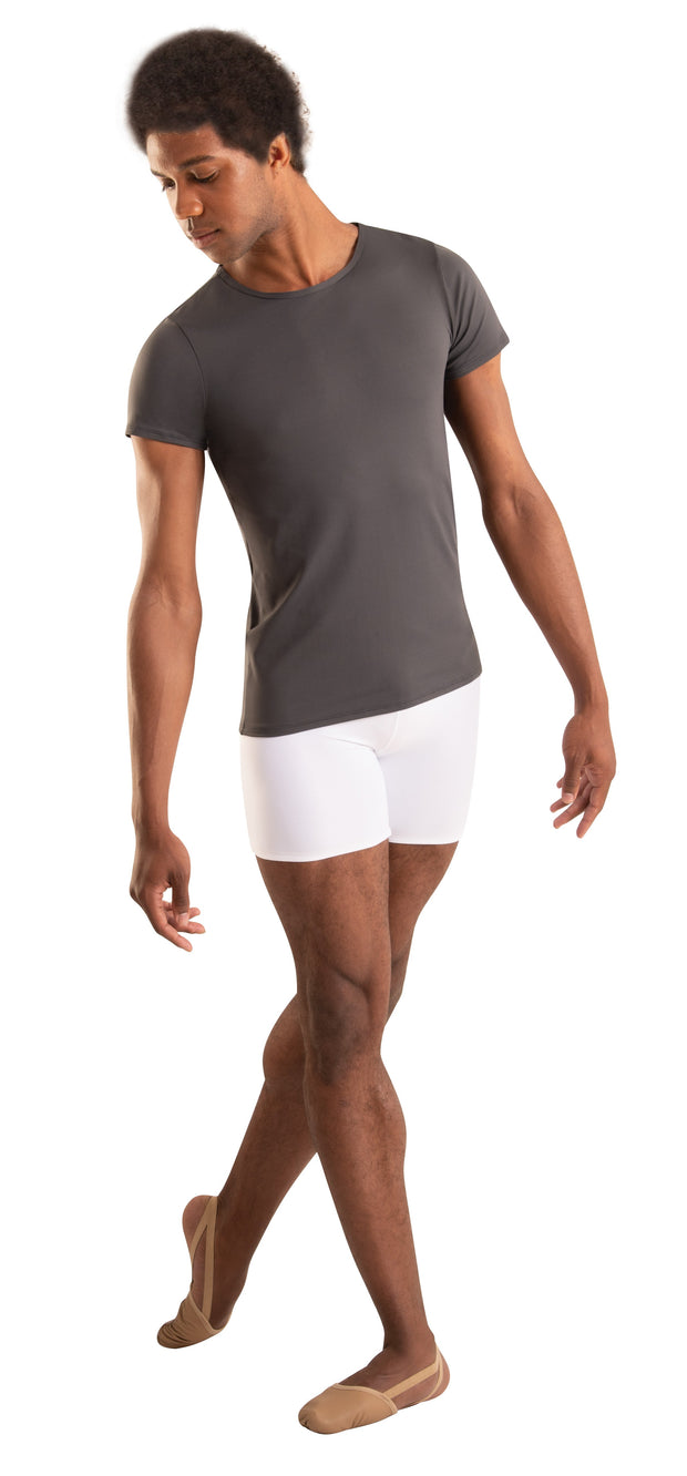 Mid-Thigh Shorts with Elastic Gripper - MENS