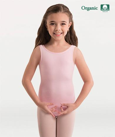Organic Cotton Tank Leotard - GIRLS