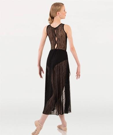 Dance costume dress for Tiler Peck Designs, a girls and womens dancewear collection for Body Wrappers by Tiler Peck, Principle Dancer of New York City Ballet NYCB who can also be seen as Sienna Milken in the Netflix series Pretty Little Things.