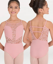 Camisole Romantic Lace Leotard Tiler Peck Designs - WOMENS