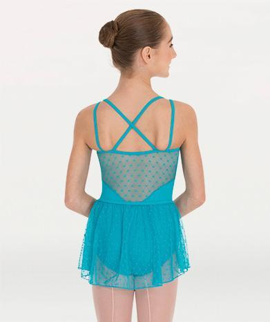 Mesh ballet skirt for Tiler Peck Designs, a girls and womens dancewear collection for Body Wrappers by Tiler Peck, Principle Dancer of New York City Ballet NYCB who can also be seen as Sienna Milken in the Netflix series Pretty Little Things.