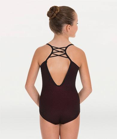Cami ballet leotard for Tiler Peck Designs, a girls and womens dancewear collection for Body Wrappers by Tiler Peck, Principle Dancer of New York City Ballet NYCB who can also be seen as Sienna Milken in the Netflix series Pretty Little Things.