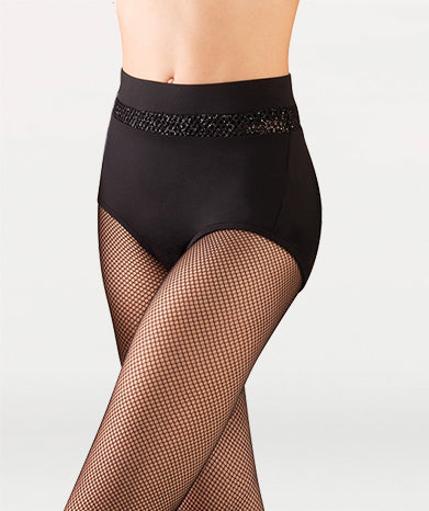 Open Mesh Hi-Waist Brief Tiler Peck Designs - WOMENS