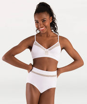 Open Mesh Hi-Waist Brief Tiler Peck Designs - GIRLS