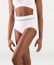 Open Mesh Hi-Waist Brief Tiler Peck Designs -WOMENS