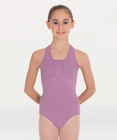 Cross-Over Neck Leotard Tiler Peck Designs - WOMENS