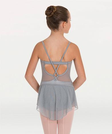 Mesh sheer elastic band ballet skirt for Tiler Peck Designs, a girls and womens dancewear collection for Body Wrappers by Tiler Peck, Principle Dancer of New York City Ballet NYCB who can also be seen as Sienna Milken in the Netflix series Pretty Little Things.