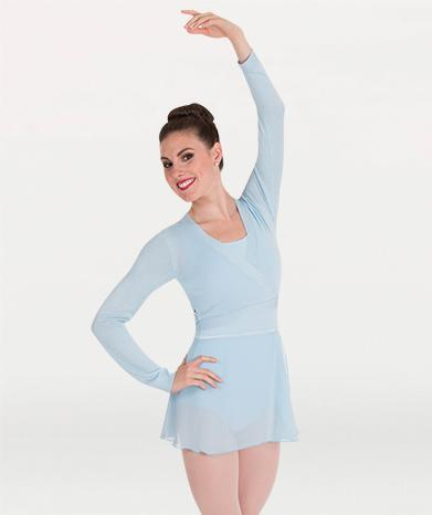 V-Neck Pullover Ballet Warm-Up Top - WOMENS