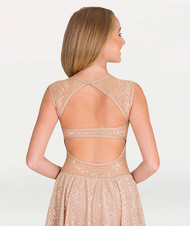 Twinkle Sweetheart Neck Open Back  Dress - WOMENS