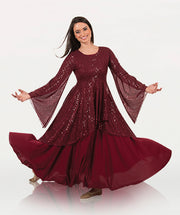 Twinkle Long Sleeve Tunic - WOMENS