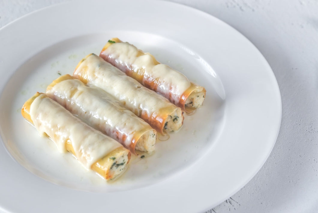 Cheese Manicotti (Large)