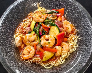 Spicy Thai Shrimp Chow Mein (Single Serving)