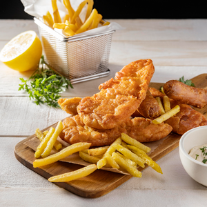 Fish & Chips (Fridays between 3pm & 6pm)