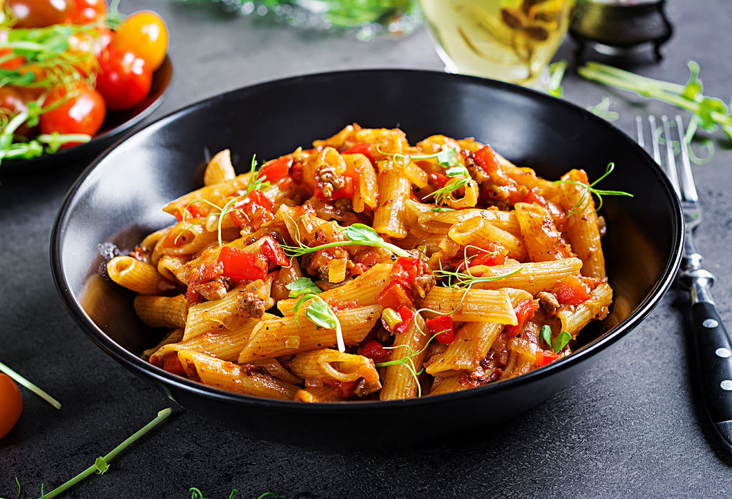 Penne Primavera with Chicken (Single Serving)