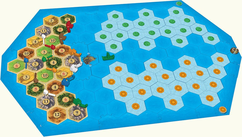 Catan - Explorers and Pirates 5-6 Player Extension