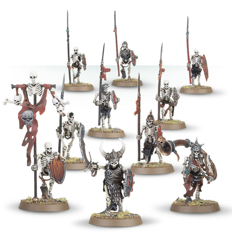 AOS: Deathrattle Skeleton Warriors