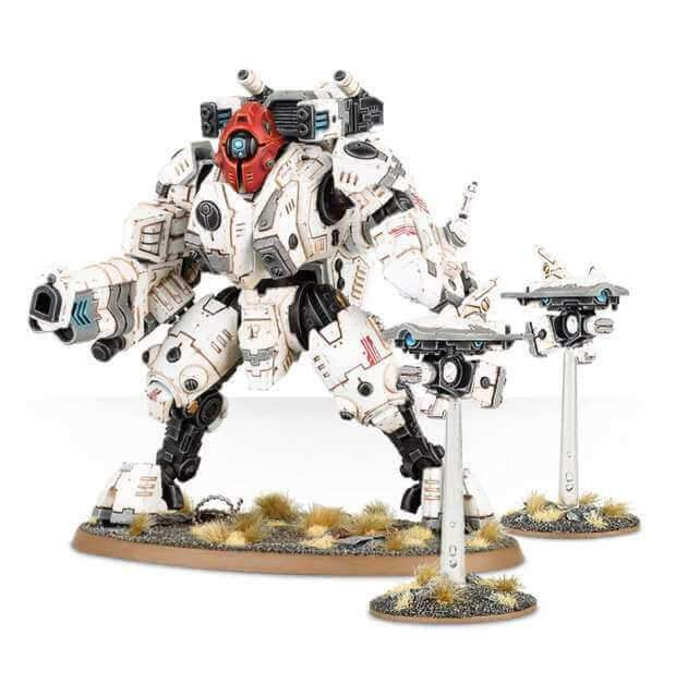 40K: T'au Empire -  XV95 Ghostkeel Battlesuit