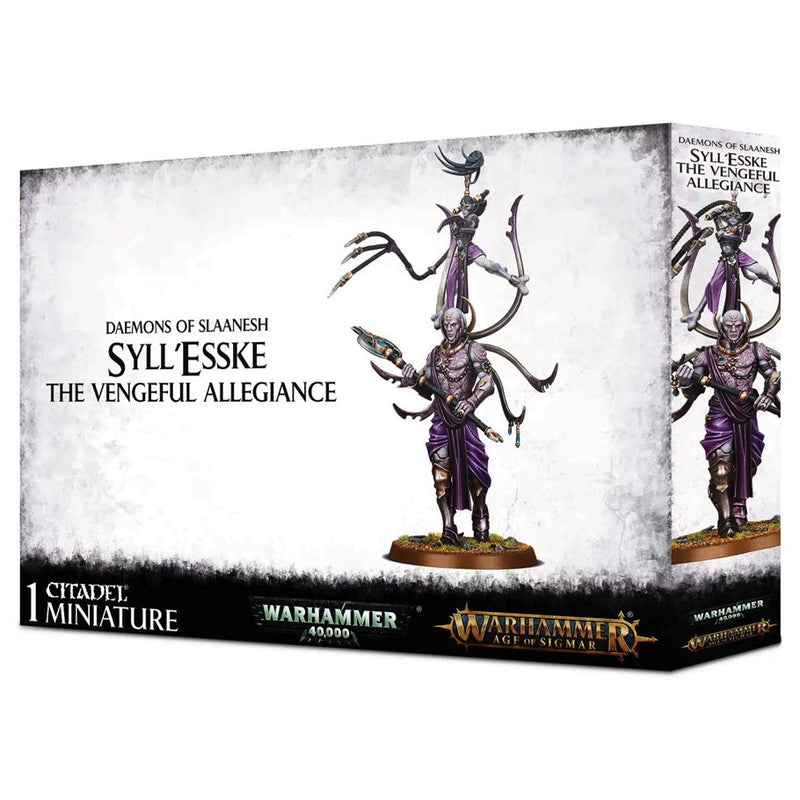 AOS/40K: Daemons of Slaanesh - Syll'Esske The Vengeful Allegiance